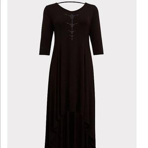 Maleficent high-low dress